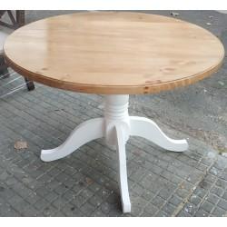 Mesa redonda 110 cm de diámetro